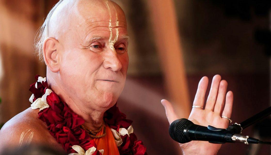 Воспоминания о Нитай Чайтанье Госвами. Онлайн встреча 18.10.20 | 07:30