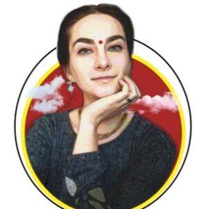 Рисунок профиля (Divyaśakti devi dasi)
